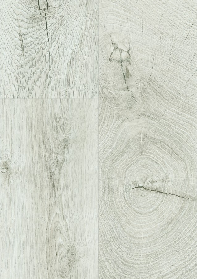 Jasne panele podłogowe Fresco Snow.