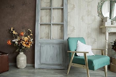 Pomagamy dobrać drzwi i podłogi do wnętrza w stylu Vintage