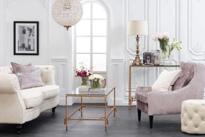 Wybieramy drzwi i podłogi do wnętrza w stylu glamour
